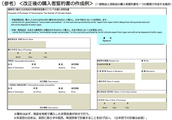 12 2016年日本免稅退稅新制