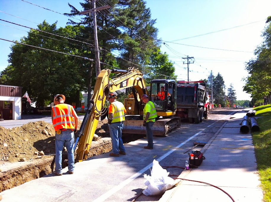 Summer 2013 Hopkinton Main Street Water Main Project