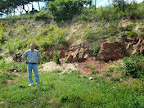 Am Earthcache 'Permian Triassic meeting' by ramgab (GC2C1R6)