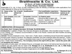 braithwaite-and-company-limited-recruitment-2016
