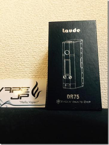 IMG 8466 thumb1 - 【ついに我が家にもやってきた(๑•̀ㅂ•́)و✧】Laude(ラウド) DR75 75W【魅惑のDNA75】~結局…普通のテクニカルMODと何が違うのよ(´д`)?編~
