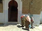 Entrada a una mezquita