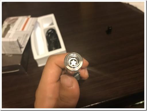 IMG 4166 thumb - 【細々】「JUSTFOG Q16 900mAhスターターキット」(ジャストフォグ・キュー)レビュー!とにかくコンパクトなほぼペン型VAPE!いちおうRDAとかも装着可能か?【泥酔/スターターキット】