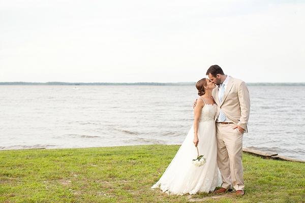 Handmade Waterfront Tappahannock Wedding  Tidewater and Tulle  Coastal Virginia Wedding Blog
