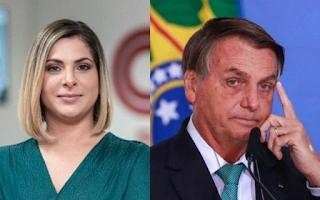 Jair Bolsonaro  atacou Daniela Lima: É uma quadrúpede