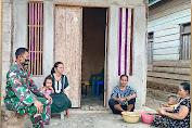 Melalui Babinsa Pangdam XIV/HSN Himbau Patuhi Prokes dan Sukseskan Program Vaksinasi