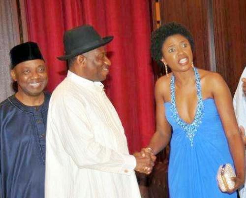 The Blue Dress Etcetera Takes A Swipe At Omoni Oboli