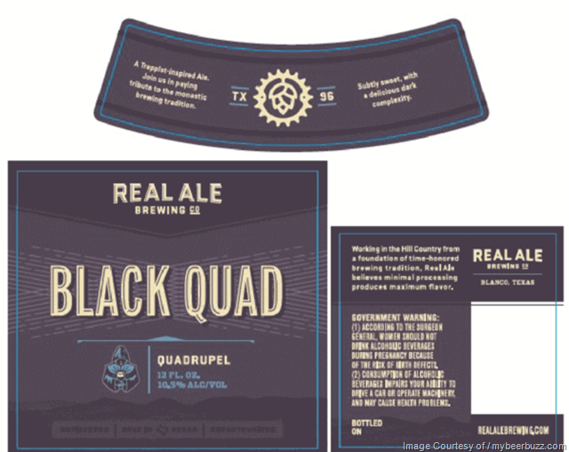 Real Ale Brewing Black Quad