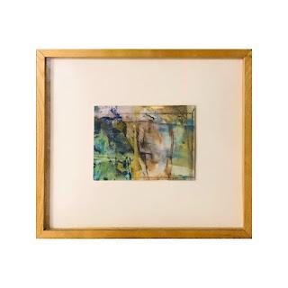 Sylviane LaRoque de Roquebrune Signed Painting