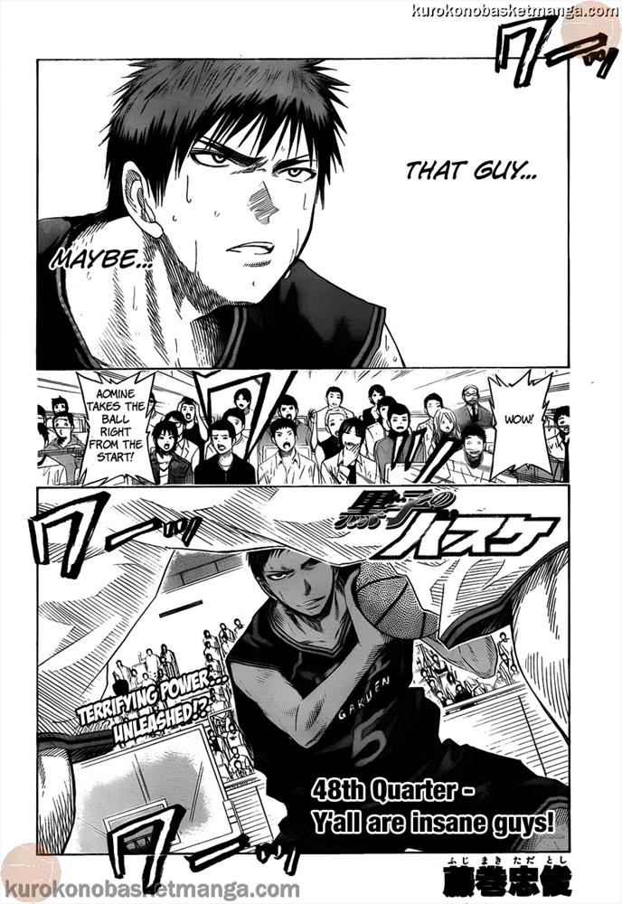 Kuroko no Basket Manga Chapter 48 - Image 02
