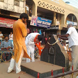 BJP paadayatre from Edapadavu to Vamanjoor junction 30-3-2014