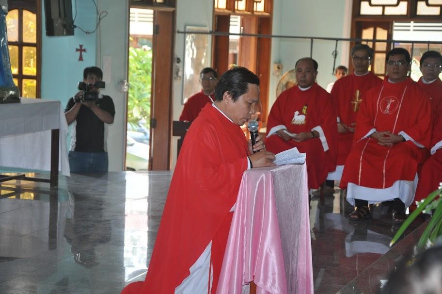 Thánh lễ bổ nhiệm cha sở giáo xứ Phú Hữu hạt Kim Châu