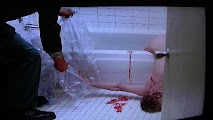 Anne Heche making shower scene Psycho 1998