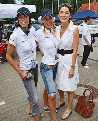 J/80 fashionistas- BMW Match Race- sailing event- Berlin, Germany
