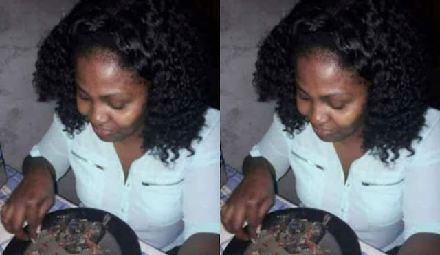 End Time! Lady Spotted Eating Special Rat Soup Delicacy (Photos)