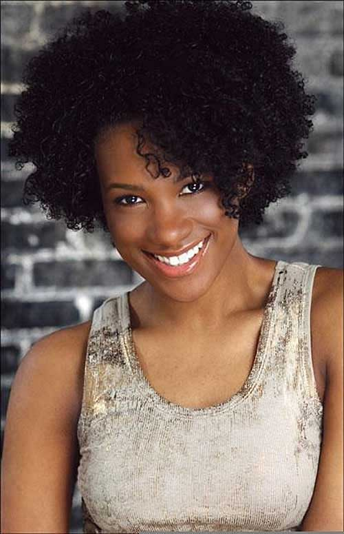 Excellent Light Brown Afro Hairstyle For Short Hair Fashion Qe Hairstyle Inspiration Daily Dogsangcom