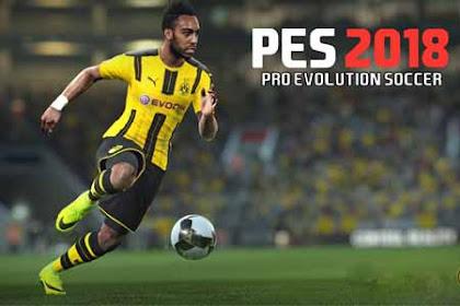 PES 2018 PRO EVOLUTION SOCCER v2.1.1 + Mod Full Apk For Android