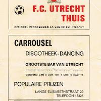 FCU Programmaboekjes 1970-71