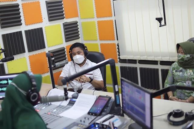 Kunjungi Diskominfo Kalsel dan Radio Abdi Persada Waket DPRD Kalsel Jaring Aspirasi