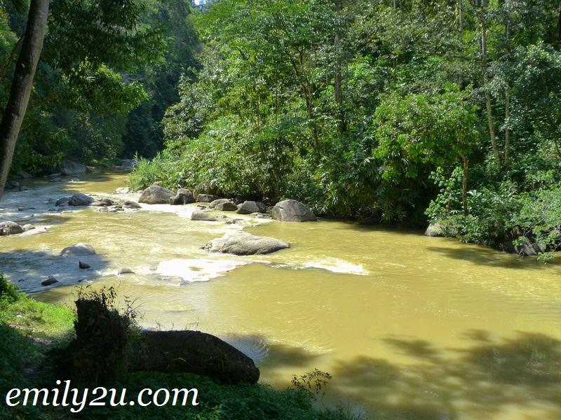 Tanjung Rambutan waterfalls
