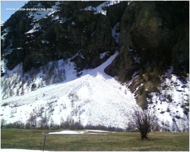 Avalanche Oisans, secteur Pic de l'Homme, La Seuire - Photo 1