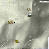 Localisation des photos autour du Col de Bacinu (Corse du Sud)