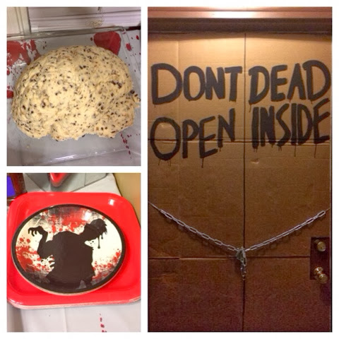 Our Little Miracles The Walking Dead Party