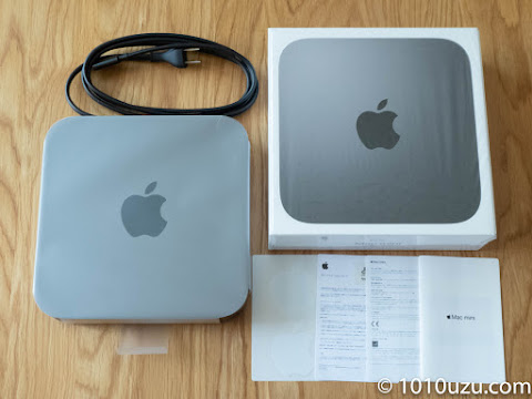Mac mini 2018と付属品