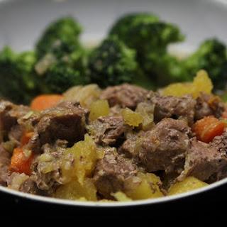 Pressure-Cooker Lamb Stew.