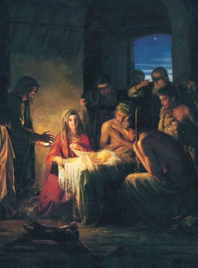 Carl Bloch - The Holy Night