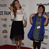 OIC - ENTSIMAGES.COM - Kelly Brook  and Maeve Murphy at the Taking Stock Premiere at the Raindance Film Festival  London 4th October 2015  Photo Mobis Photos/OIC 0203 174 1069