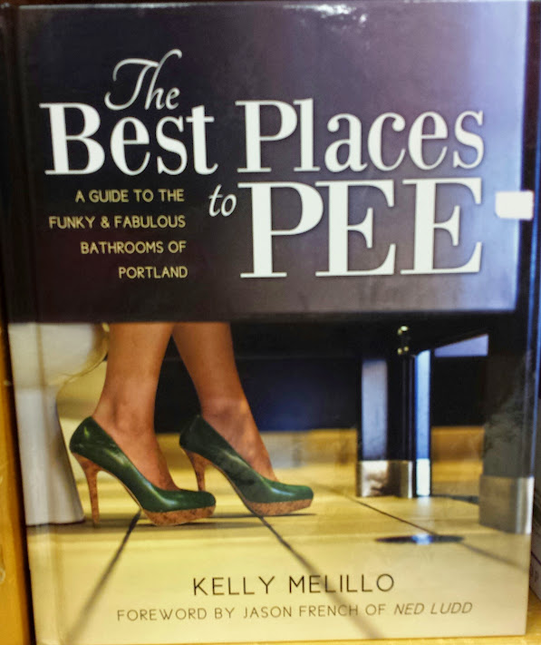 How To Pee at Powells Books Portland OR