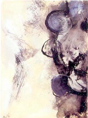 Mots - invisible III, 1992 200 x 150 cm, acrylique sur toile