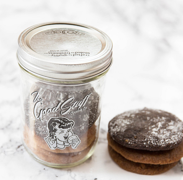 photo of a jar with cookies