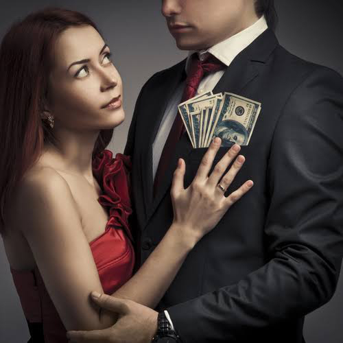 MARRYING FOR LOVE OR FOR MONEY?