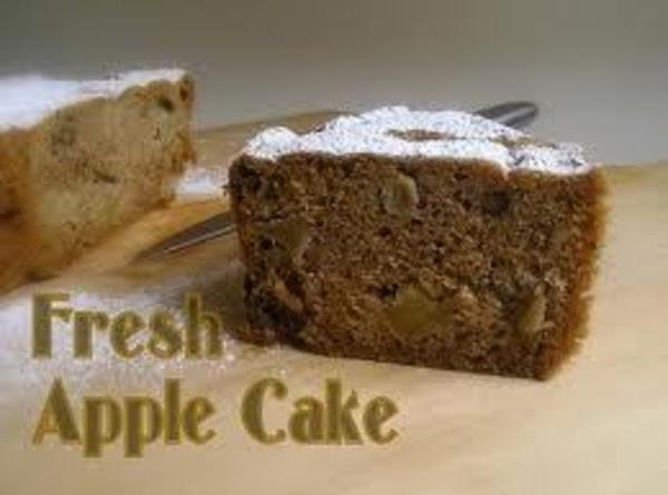 Virginia Apple Joy Cake Recipe