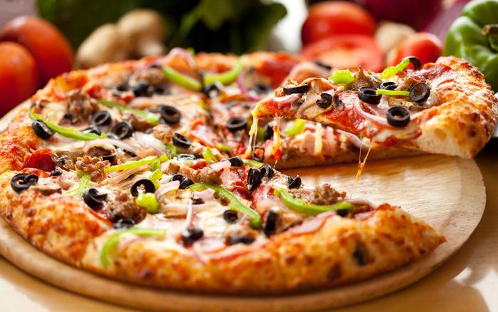 Hinh anh: Banh Pizza Y vo cung hap dan