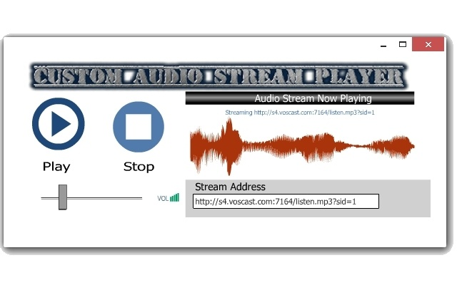 Custom Audio Stream Player Chrome Web Store