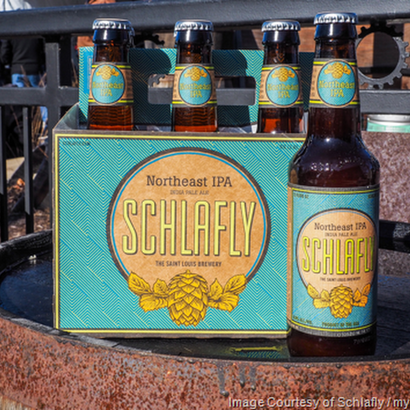 East Coast Meets The Midwest with Schlafly Beer's Latest Hop Allocation Beer:  Northeast IPA