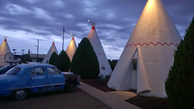 """Photo: August 11-Another """"Cars"""" inspiration is the Wigwam Motel in Holbrook, AZ."""