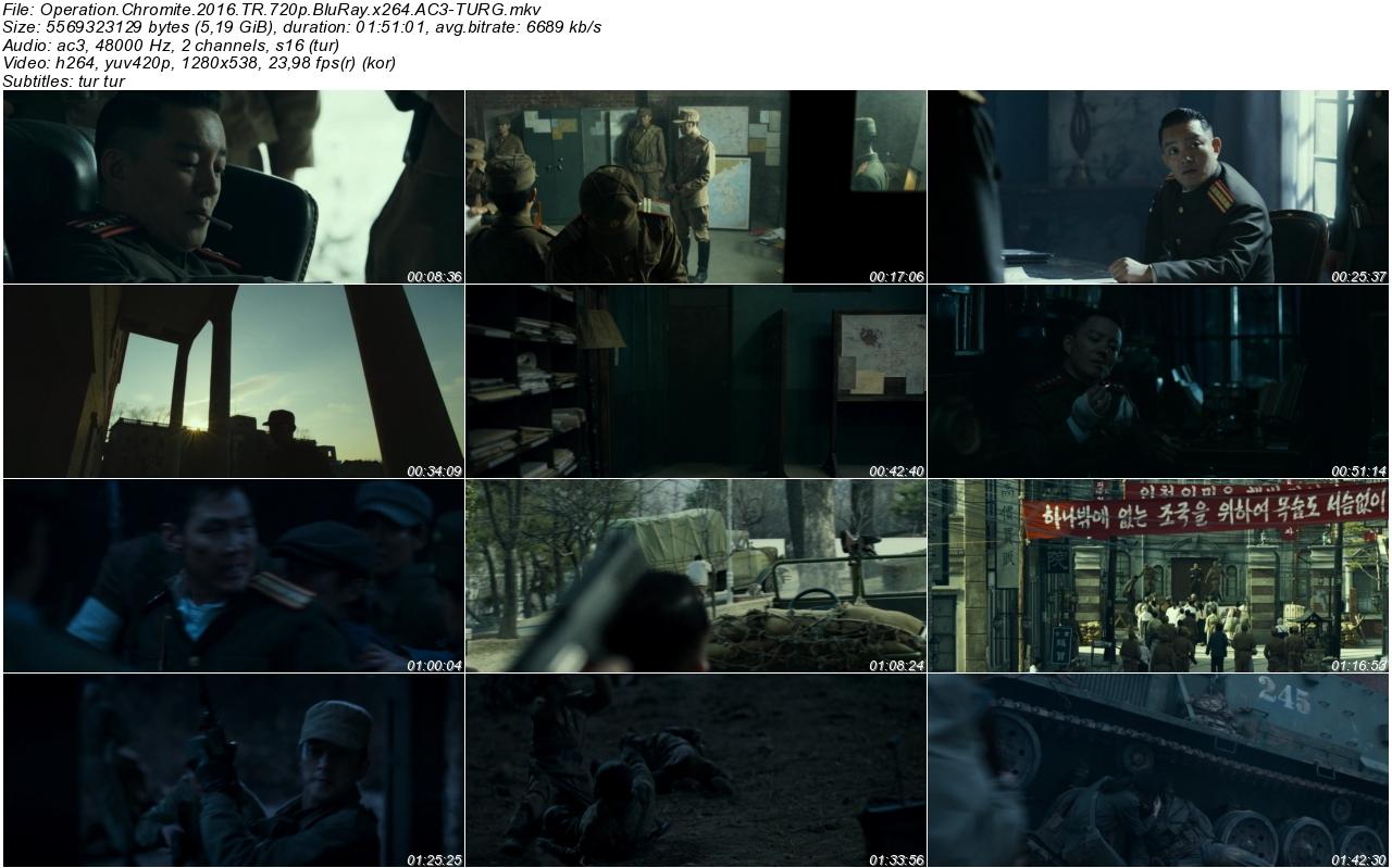 Operation Chromite 2016 - 1080p 720p 480p - Türkçe Dublaj Tek Link indir