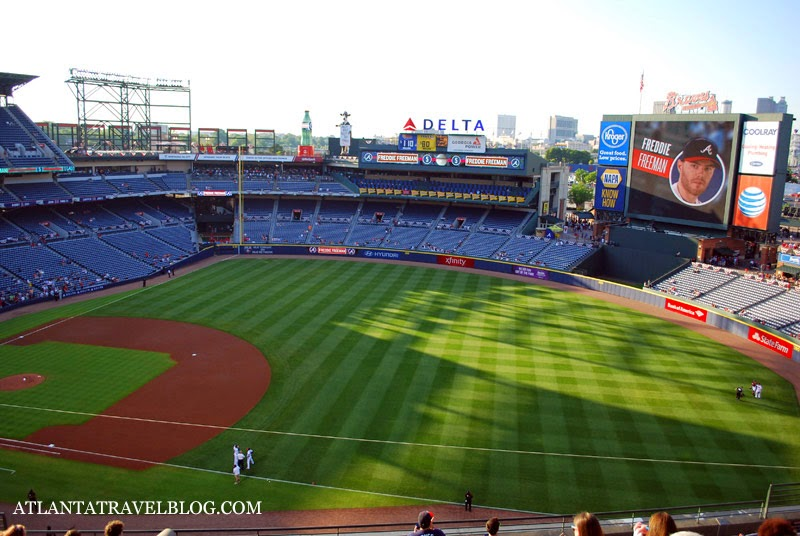 Atlanta Braves Baseball Turner Field