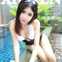 [XiuRen] 2014.08.16 No.205 绮里嘉ula [45P] cover.jpg