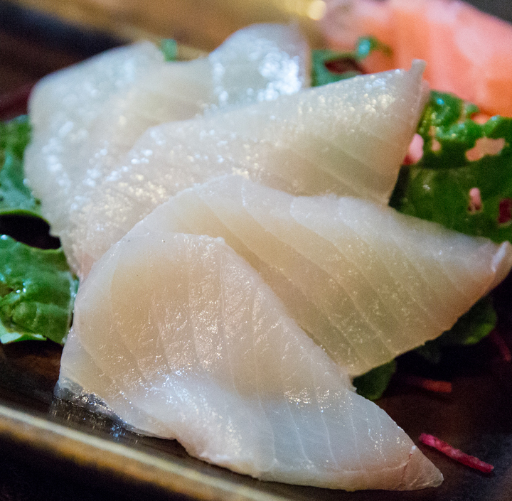 photo of Monchong sashimi