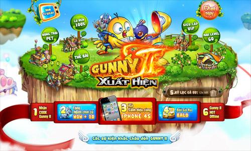 GameLandVN phát tặng 600 giftcode Gunny II 1