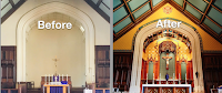 Before and After: Thomas Aquinas College East Coast Chapel
