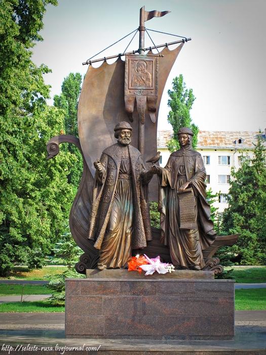 Памятник петру и февронии в самаре изготовление памятников фото и цены Пятигорск