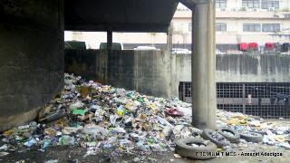 Shocking: See The Shanty, Dumpsite That Is Concealed Within Nigeria's Federal Secretariat