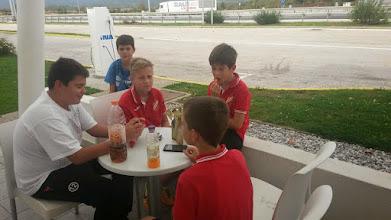 Photo: Na odmoristu MACOLA na putu za Makarsku...