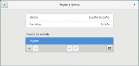 Como configurar GNOME con detalle. Configuración personal. Privacidad. Idioma.